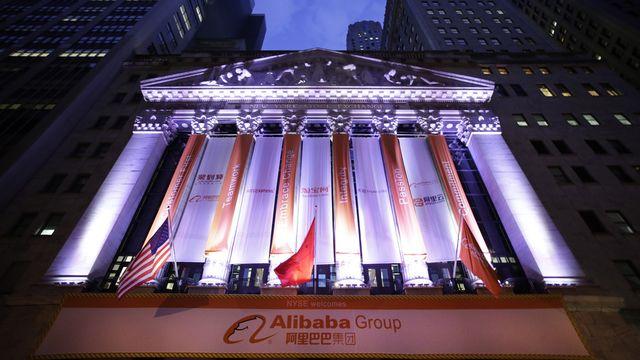 Alibaba a réalisé la plus grosse entrée en bourse de l'histoire [AP Photo/Mark Lennihan - Keystone]