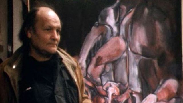 Entretien avec le peintre Bruno Müller dans son atelier parisien.