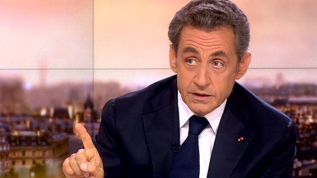 Nicolas Sarkozy lors de son entretien de 45 minutes sur France 2. [France 2]