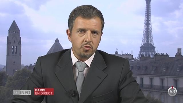 Retour en politique de Nicolas Sarkozy: les précisions de Michel Beuret, depuis Paris [RTS]