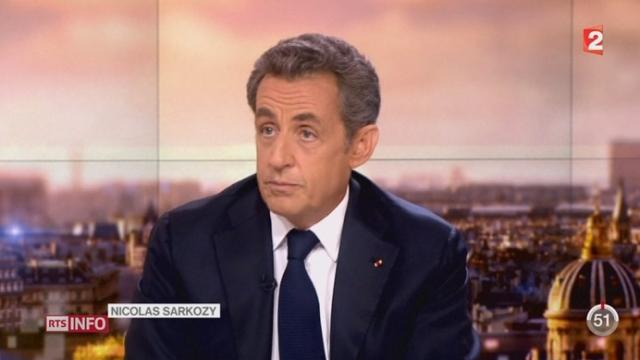Nicolas Sarkozy est officiellement de retour sur la scène politique [RTS]