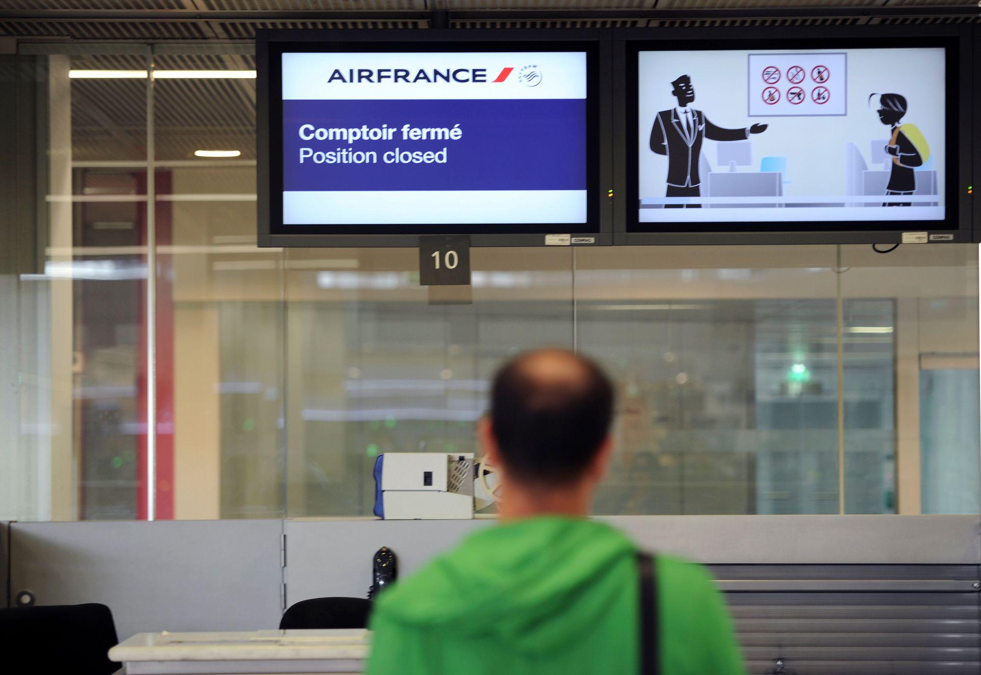Les pilotes en gr ve refusent les propositions de la direction d 39 air france monde - Comptoir air france orly telephone ...