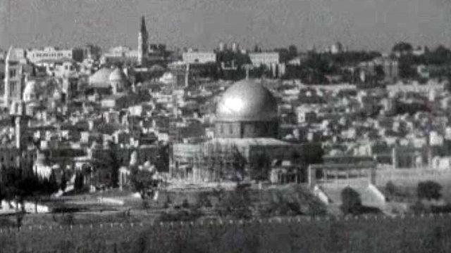 La Terre sainte, lieu de tension de trois religions.