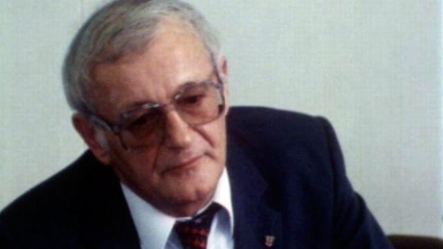 Il fut parmi les déportés suisses dans les camps nazis. [RTS]