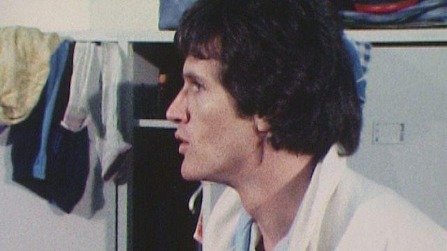 Un entraîneur néophyte, Daniel Jeandupeux en 1979. [RTS]