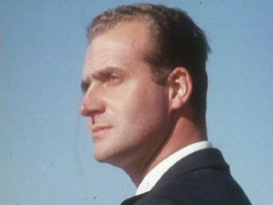 Juan Carlos d'Espagne en 1970. [RTS]