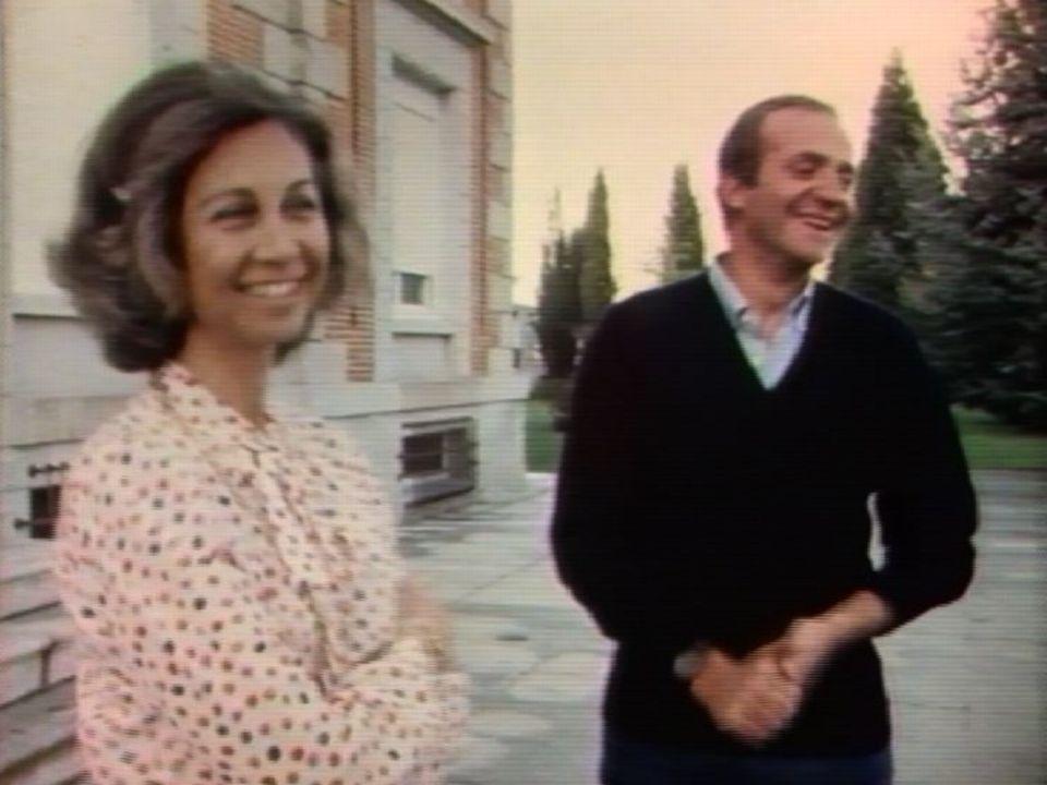 Juan Carlos et son épouse Sofie en 1979. [RTS]