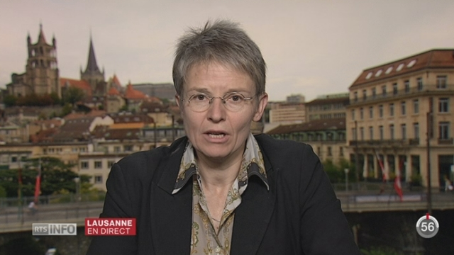 Etude PISA: les explications d'Anne-Catherine Lyon, Présidente Conf. Intercantonale instr. publique [RTS]
