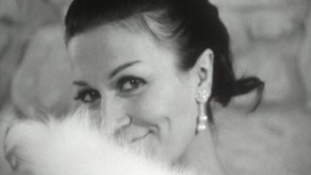 L'élégance de Madame TV, 1966. [RTS]