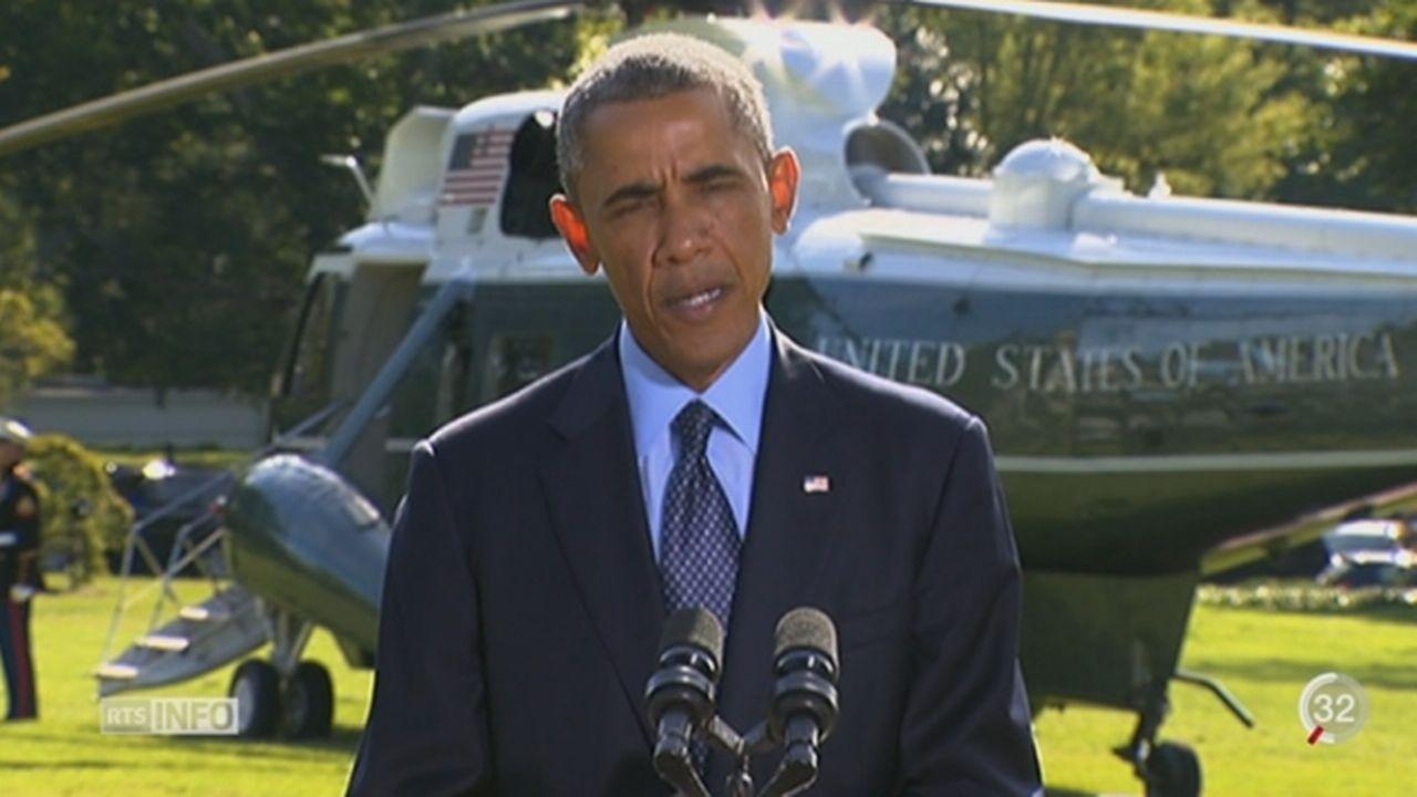Syrie: les Etats-Unis dirigent une coalition contre l'Etat islamique autoproclamé [RTS]