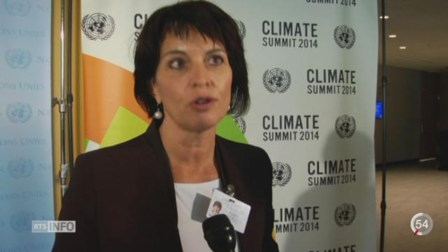 Le sommet sur le climat s'ouvre à l'ONU [RTS]