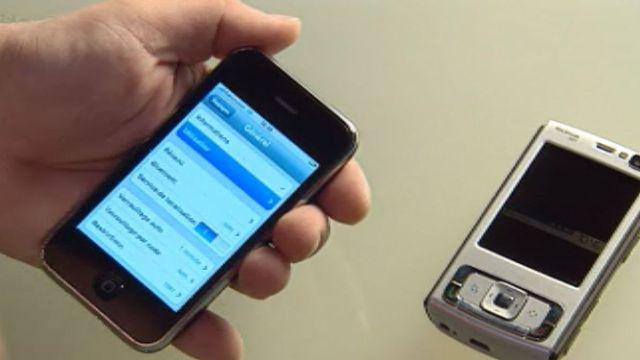 Téléphoner, ce n'est plus l'essentiel dans les smartphones.
