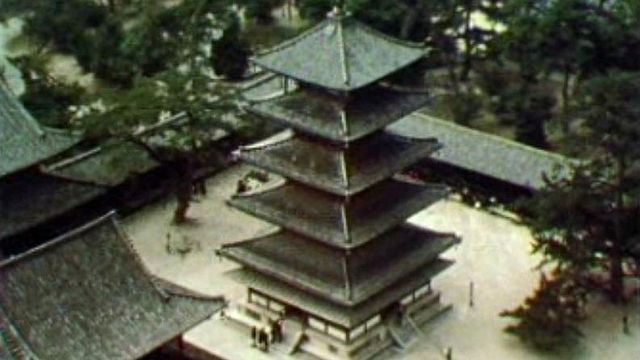 Le bouddhisme va susciter un art d'une qualité exceptionnelle au Japon.