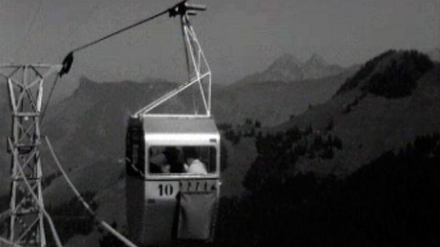Le point sur les derniers travaux pour le téléphérique du Moléson.