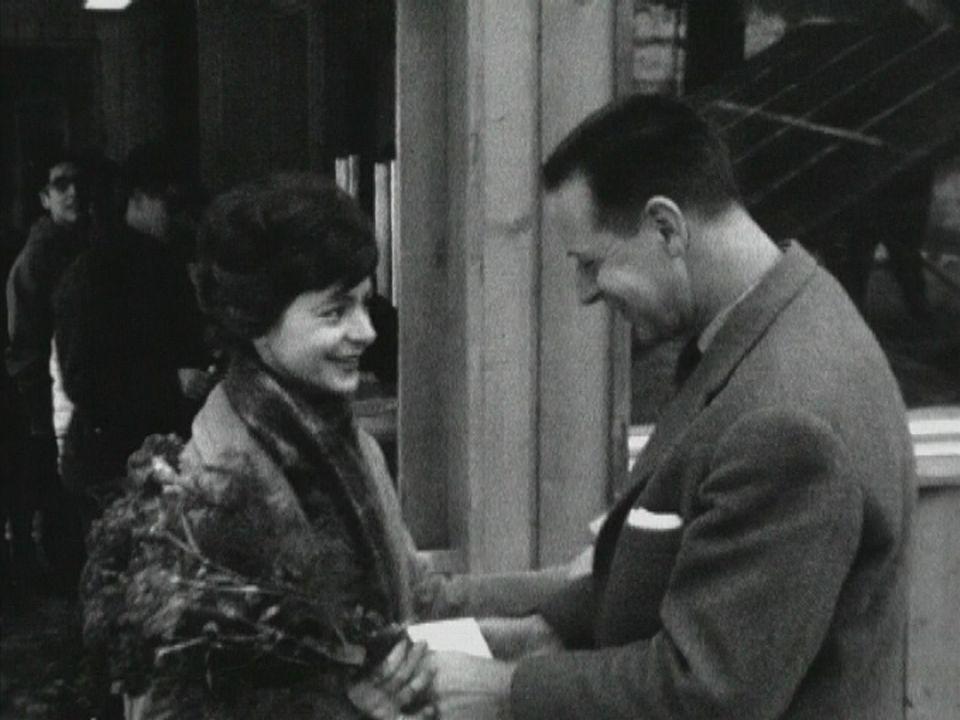 Inauguration des remontées mécaniques du Moléson en 1964. [RTS]