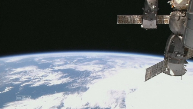 Un nouvel equipage a atteint la station spatiale ISS [RTS]