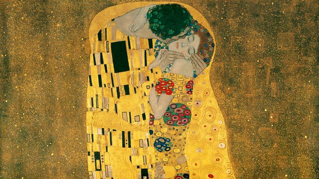 """Le Baiser"" par Gustav Klimt. [Wikipédia]"