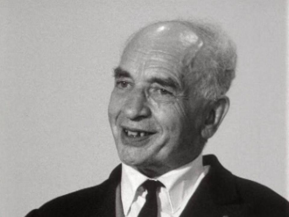 Alfred Sauvy en 1971. [RTS]
