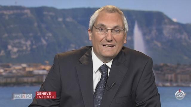 Votations cantonales genevoises: Joël Boissard revient avec nous sur la proposition de l'UDC d'un tunnel sous la rade [RTS]