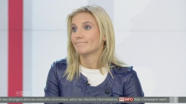 Céline Amaudruz sur le rejet de la traversée de la rade [RTS]