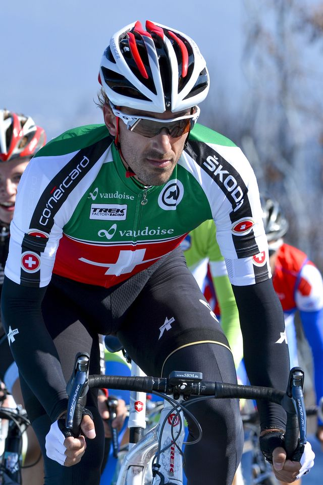 Fabian Cancellara. [Dirk Waem/Belga - Keystone]