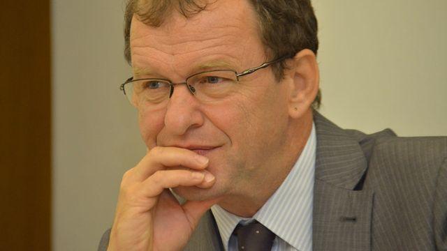 Le ministre jurassien Michel Thentz. [Gaël Klein - RTS]