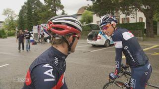 Le Mag: le quotidien d'un stagiaire cycliste [RTS]