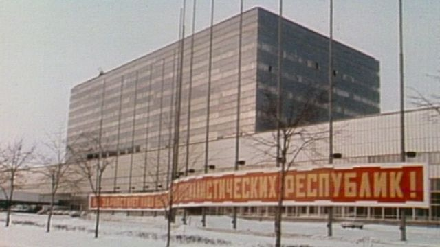 URSS par sa TV. [RTS]