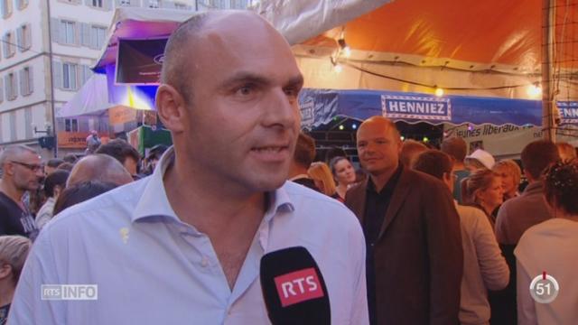 NE: Laurent Favre a été facilement élu pour remplacer Yvan Perrin [RTS]
