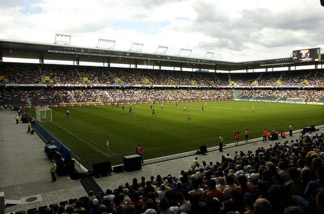 Le Stade de Suisse est mis à l'écart par l'ASF. [Edi Engeler - Keystone]