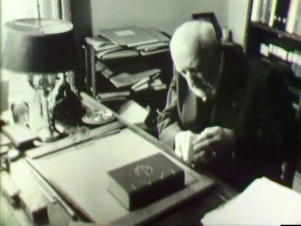 Portrait du chef d'orchestre suisse Ernest Ansermet. [RTS]