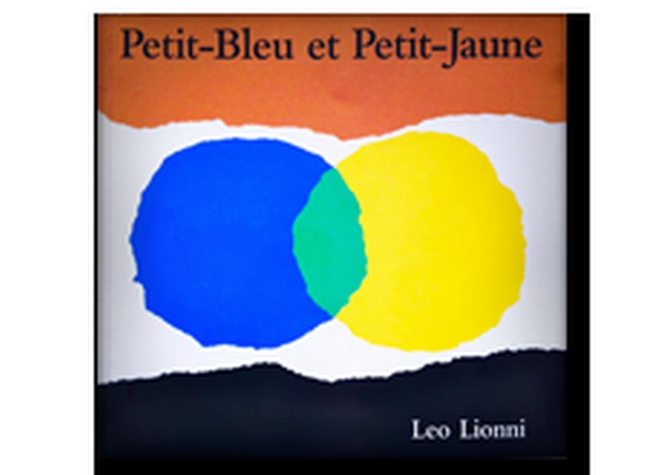 """Petit-Bleu et Petit-Jaune"" de Léo Lionni. [RTS]"