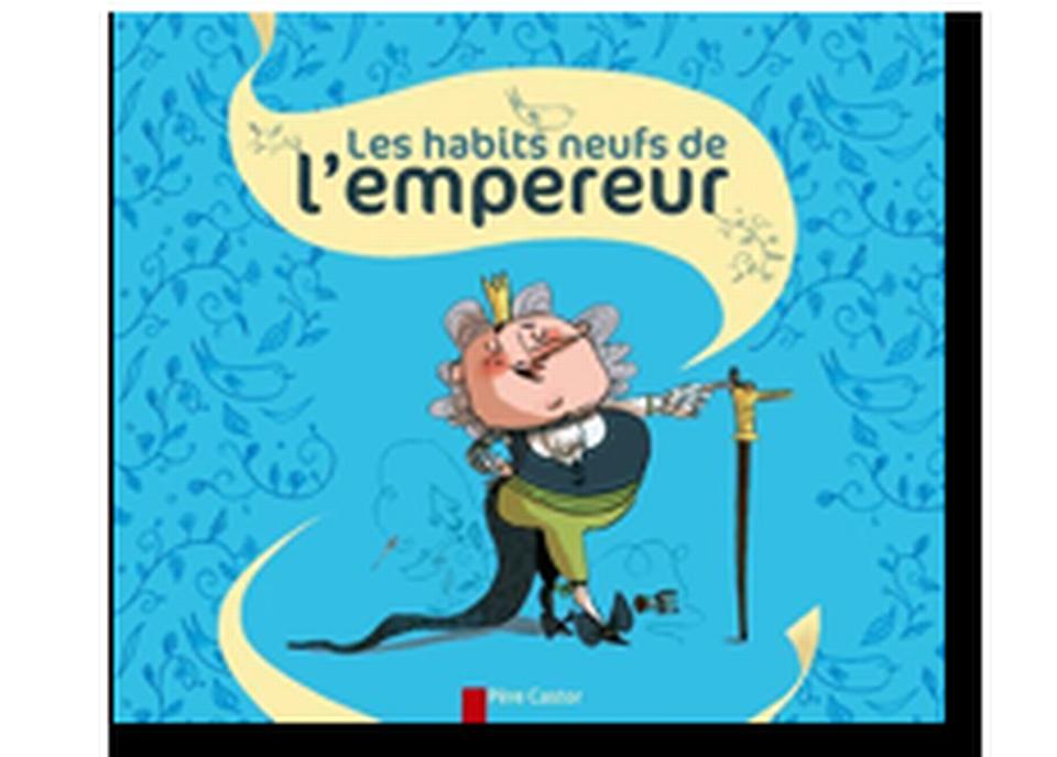 """""""Les habits neufs de l'empereur"""" illustré par Bérangère Delaporte (du célèbre conte de Hans Christian Andersen). [RTS]"""