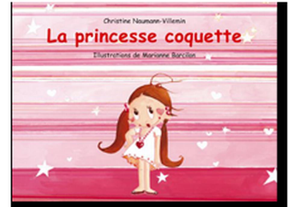 """""""La Princesse coquette"""" de Christine Naumann-Villemin et Marianne Barcilon. [RTS]"""