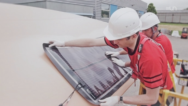 Inventer demain : Une membrane solaire souple [RTS]