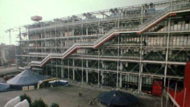 Un centre culturel d'avant-garde pour la capitale française. [RTS]