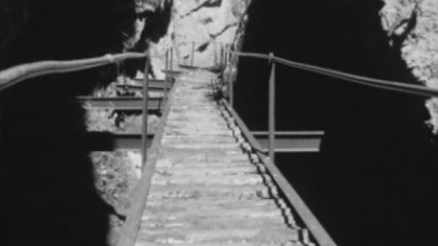 Passerelles construites en Valais. [RTS]