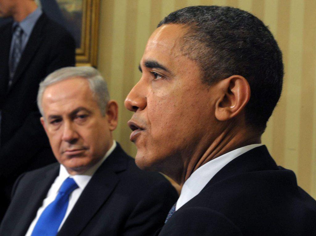 Rencontre obama netanyahu