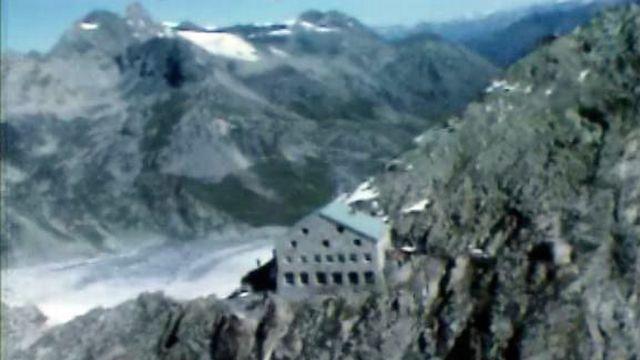 Cabane des Vignettes en Valais. [RTS]