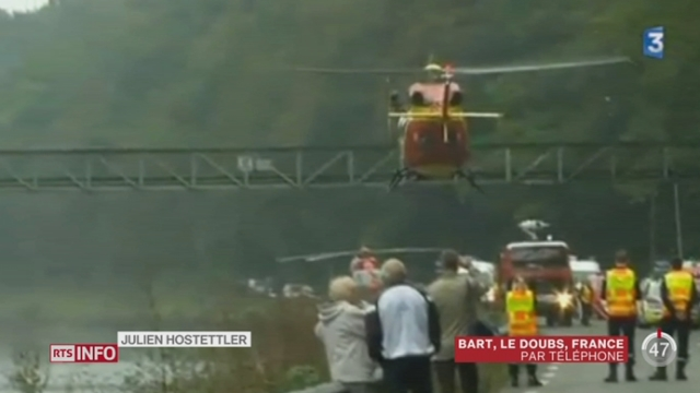 Un hélicoptère suisse s'est écrasé en France voisine [RTS]