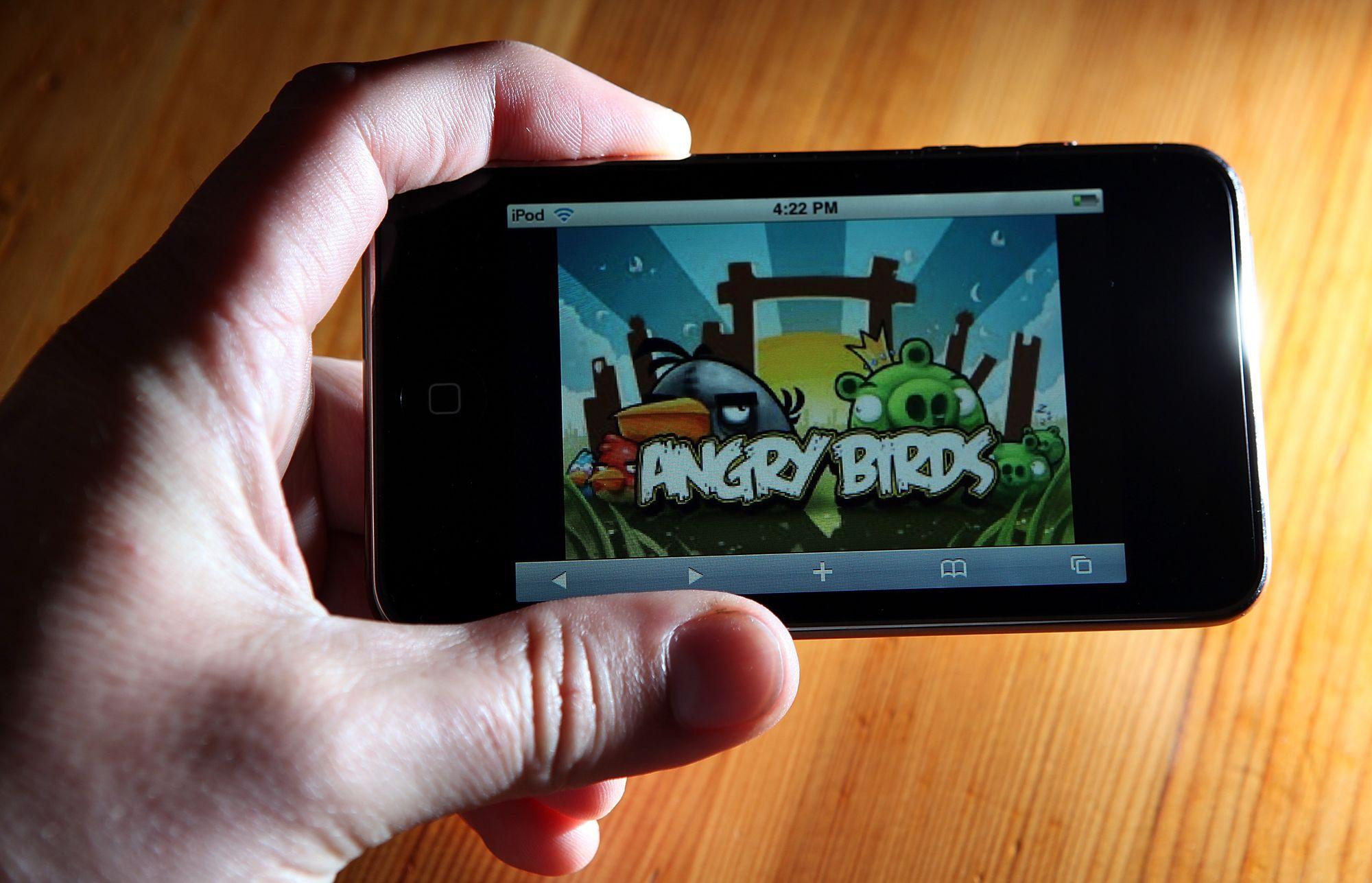 La soci t finlandaise cr atrice du jeu angry birds doit - Jeu info angry birds ...