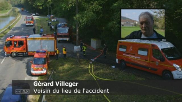 Le temoignage d un voisin du lieu de l accident d helicoptere [RTS]