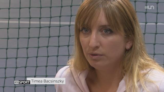 Tennis: portrait de Timea Bacsinszky qui revient à son meilleure niveau [RTS]