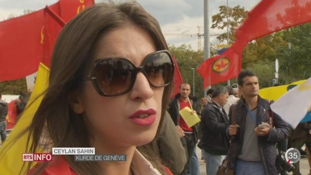 Les Kurdes de Suisse se mobilisent pour venir en aide à leur peuple [RTS]