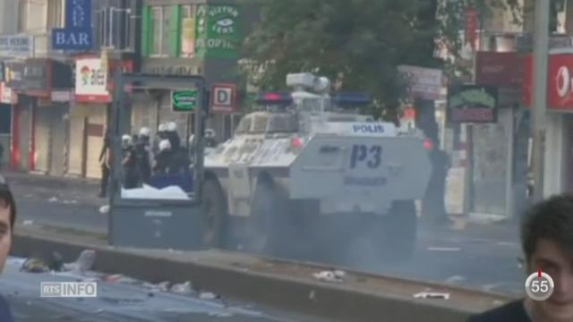 En Turquie, quatorze personnes ont perdu la vie dans des heurts violents [RTS]