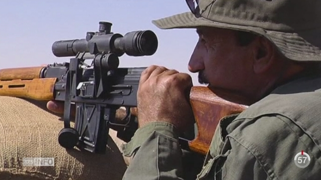 L'offensive de l'Etat islamique se poursuit dans le Kurdistan irakien [RTS]