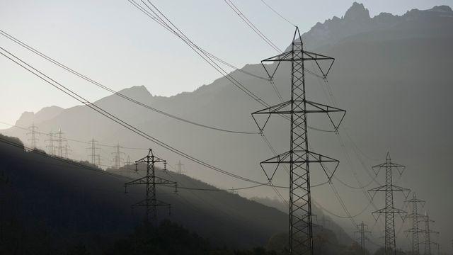 électricité marché courant énergie [Gaetan Bally - Keystone]