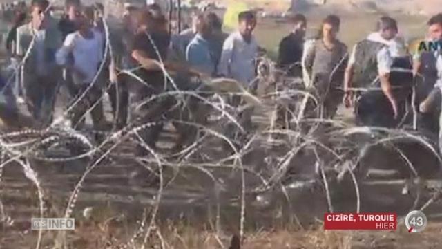 La Suisse s'exprime sur les événements de Kobané en Syrie [RTS]