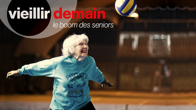 """Opération spéciale """"Vieillir demain: le boom des seniors"""". [RTS]"""