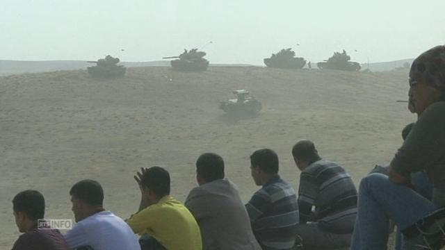 Drôle de guerre à la frontière turco-syrienne [RTS]